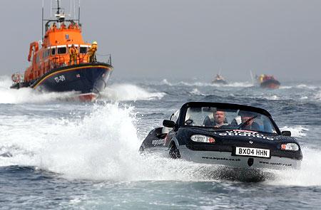 Aquada amphibious sports car