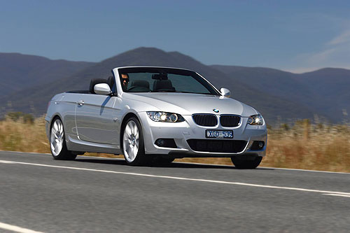 The new BMW 3 Series 330d Convertible