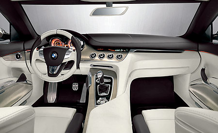 BMW CS concept car dashboard