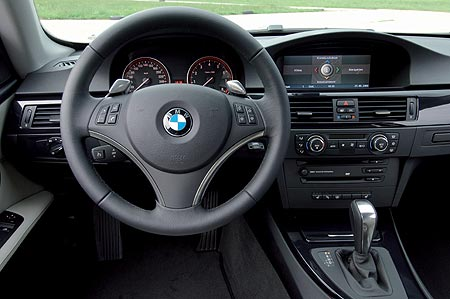 BMW Series 3 dashboard