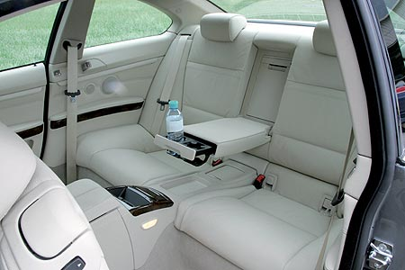BMW Series 3 interior