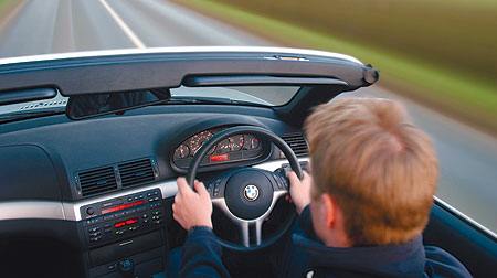 BMW 3 Series cockpit