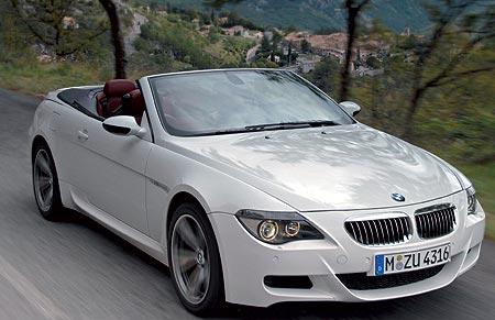 Bmw M6 Convertible. BMW M6 Convertible
