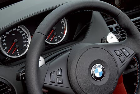 BMW M6 Convertible dashboard