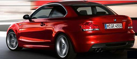 BMW 1 Series Coupe - rear