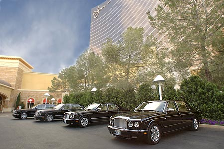 Four Bentleys in Las Vegas
