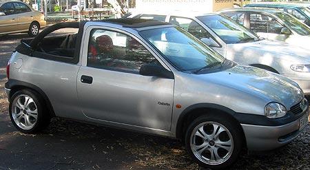 2000 Holden Barina Cabriolet