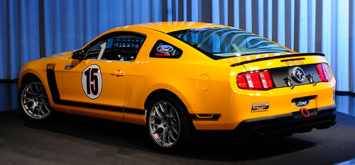 Ford Mustang BOSS 302R rear