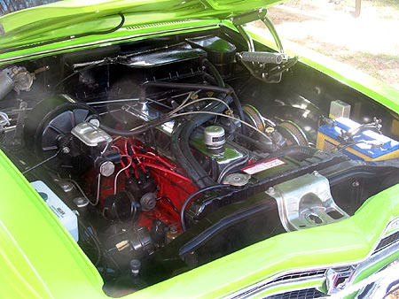 Holden XU1 motor