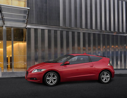 The only six-speed manual hybrid sports car - the Honda CR-Z