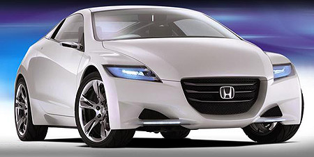 Honda CRZ petrol-electric concept car