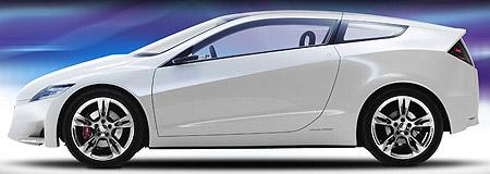 Honda CRZ concept car