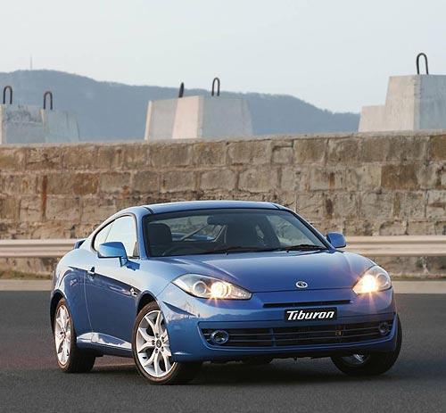 Hyundai Tiburon front