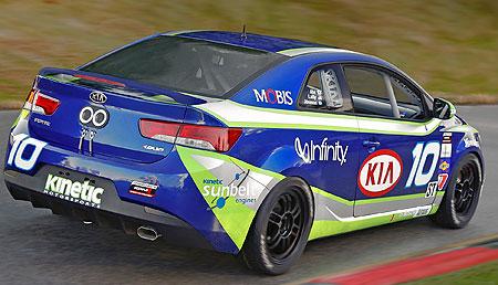 Kia Cerato in racing trim