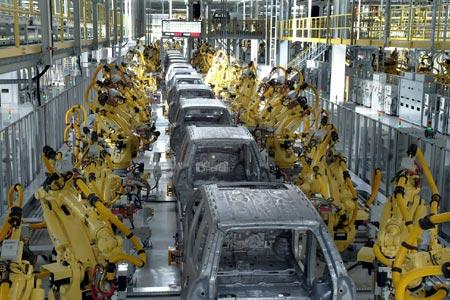 Kia production line