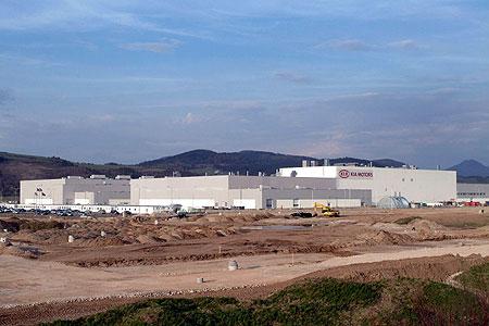 Kia plant in Slovakia