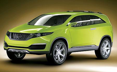 Kia KND-4 SUV concept car