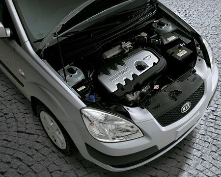 Kia Rio Hybrid Engine