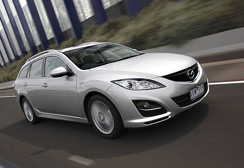 The new Mazda 6 wagon