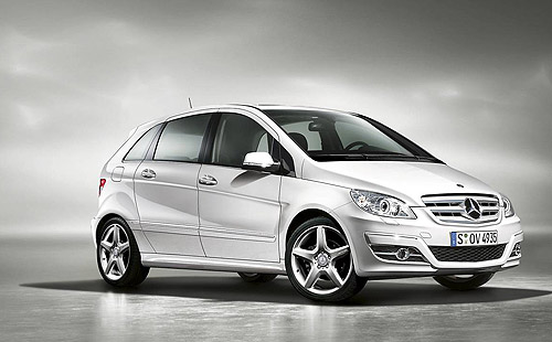 The Mercedes-Benz B 180 Turbo