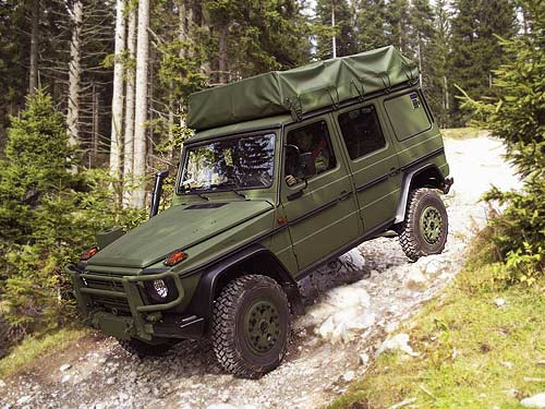 Mercedes-Benz G-Class for the Australian Army