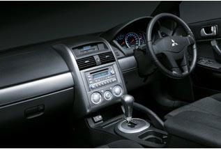 Mitsubishi 380 dashboard