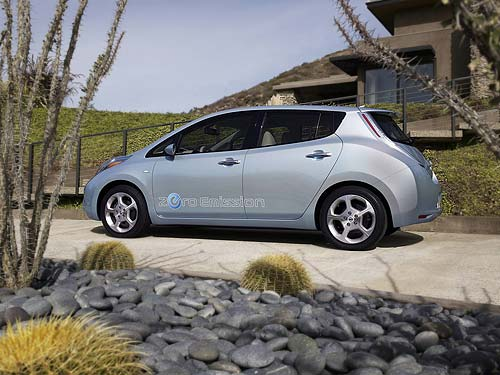 Nissan Leaf - the electric vehicle of the future