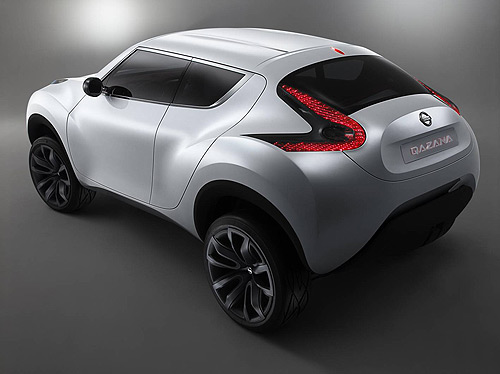 Possible rear view of the Nissan Juke