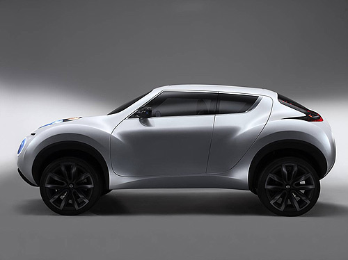 Possible source vehicle for the Nissan Juke