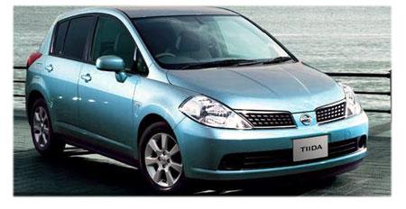 Nissan Tiida hatch