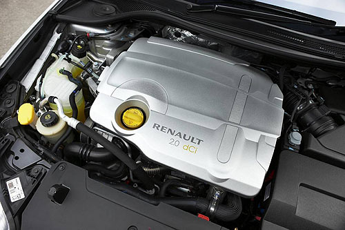 The Renault Leguna motor