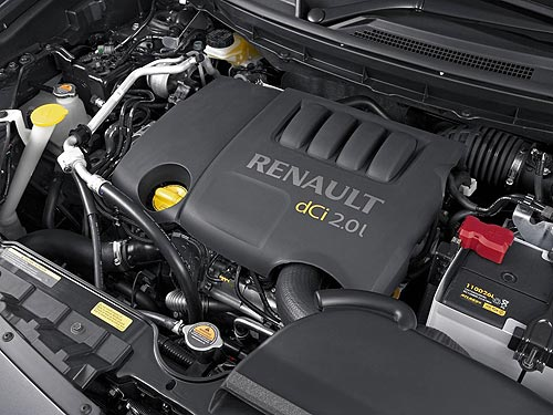 Diesel power for the Renault Koleos