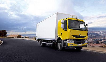 Renault Midlum delivery truck