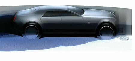 The Rolls Royce RR4 design for 2010