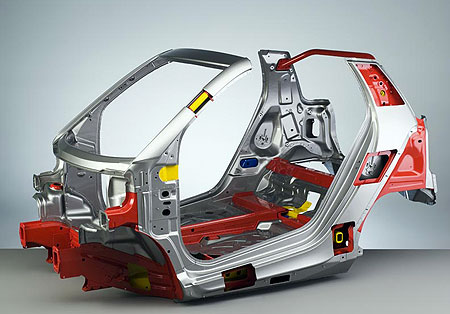 smart fortwo chassis
