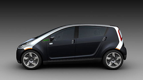 Think's 5-seater electric concept car