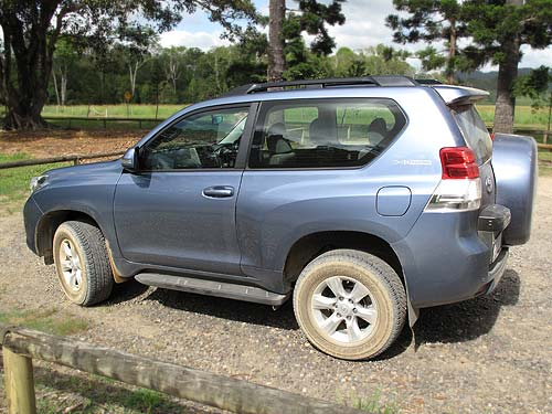 The Toyota Prado is a great drive in the dirt