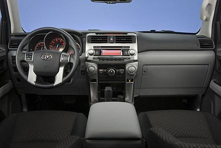 Toyota 4Runner SR5 dash