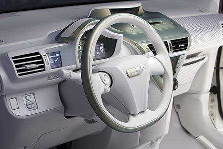 Toyota FT-EV dashboard