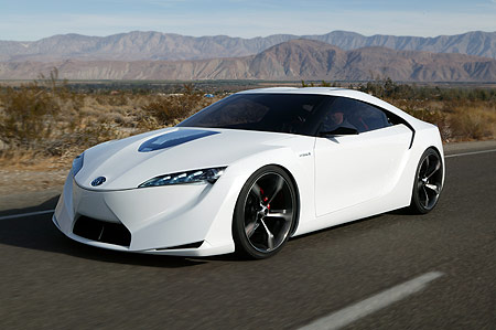 Toyota sports concept car