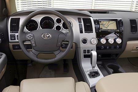 Toyota Tundra dashboard