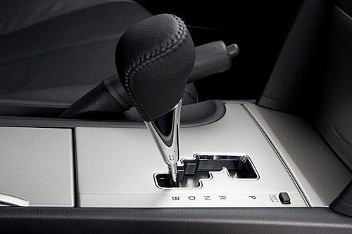 Toyota Hybrid Camry gear selector