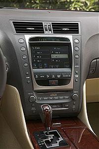 2007 Lexus dashboard