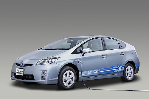 The plug-in Prius hybrid from Toyota