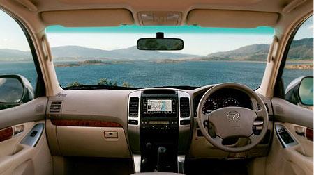 Toyota Prado dash