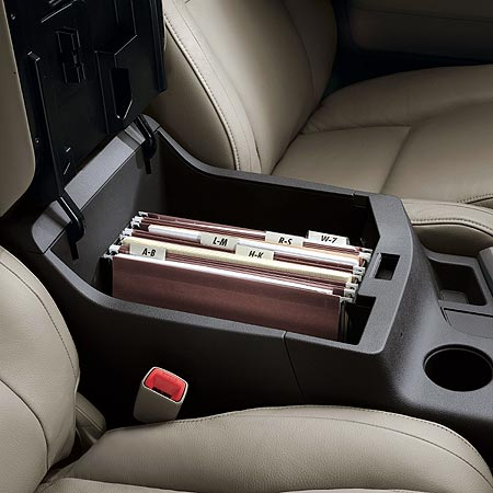 Toyota Tundra centre console