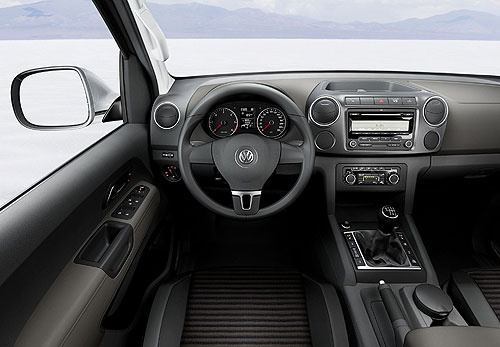 VW Amarok dashboard