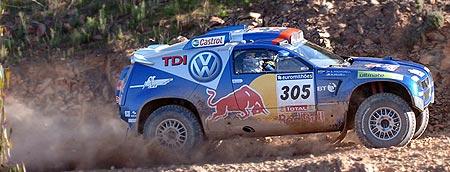 VW Touareg Dakar Rally car
