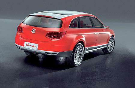 VW Neeza rear