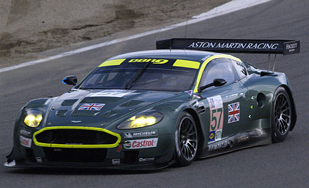 Aston Martin Racing in Dubai